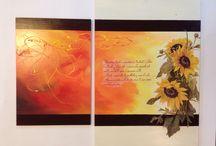 Quadri realizzati a Decoupage / Quadri, Decoupage e colori: una fusione perfetta!!!