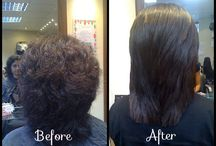Smoothing treatments and products