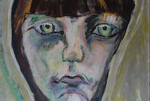 Painting Marlene Kern