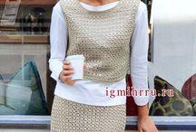crochet suit