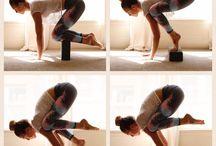 yoga block poses