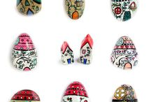 Kavicsok, kövek, mozaikok