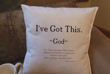 home decor with bible verse / home decor with bible verse