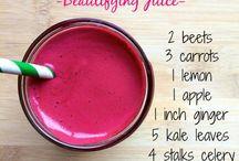 Healthy detox juices
