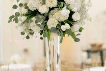 Свадебные украшения для стола