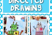 First Grade Directed Drawing