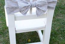 cadeiras decoradas / Cadeiras