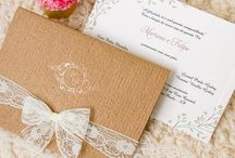 Convites de Casamento Romanticos