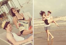 Retro Beach Shoot