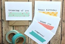washi tape and wrapping