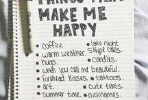 Happy things