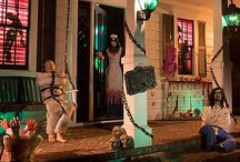 Asylum Halloween Decorating Ideas / We're mad for this asylum Halloween theme! Terrorize the neighbors with creepy props: bloody body parts, unhinged inmates & twisted chains! With so many demented decorating tips, you'd be mad not to join us! / by Party City
