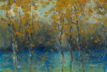 Inspirations arts, oil pastel, watercolor