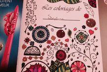 coloriages art-thérapie