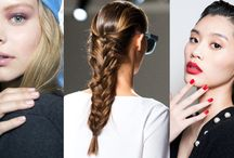 Real Runway Beauty: Tips and Trends From NYFW 2015. / All the best hair, makeup and beauty trends spotted at NYFW 2015.