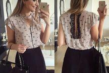 блузки и юбки / крой и пошив