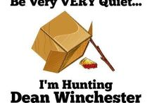 """Supernaturally. / """"Dad's on a hunting trip."""""""