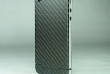 iPhone 4 Carbon Cover Steel Line / Real Carbon, weight: 7,5 g, thickness: < 0,5 mm - Carbon Cover for iPhone 4 and 4S