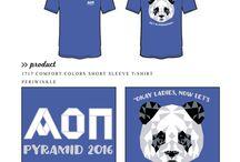 Alpha Omicron Pi / Alpha Omicron Pi custom shirt designs #alphaomicronpi #aopi #aoii #aop  For more information on screen printing or to get a proof for your next shirt order, visit www.jcgapparel.com