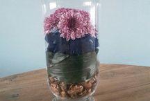 Mijn bloemen - creaties!