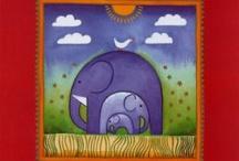 Elephants & Owls. / by skip to my room