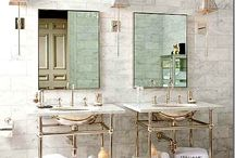 Interiors-Bathrooms / by Kyra Williams
