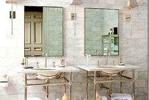 Interiors-Bathrooms / by Kyra Williams
