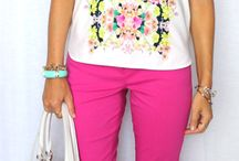 Waist Cropped Trousers