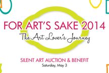 For Art's Sake 2014 / The Art Center's For Art's Sake: Silent Art Auction & Benefit supports our mission of bringing art and people together. Here are some of the pieces that will be available the night of the event.