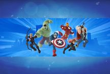 Disney Infinity 2.0 Marvel / Disney Infinity 2.0 related screenshots including gameplay images, character images and the Disney Infinity 2.0 Starter Pack image.