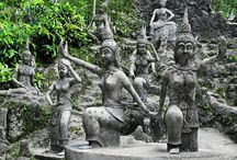 Magic Buddha Garden, Koh Samui, Thailand / Magic Buddha Garden is a hand-made magical experience in one of the most relaxing areas in Koh Samui. Tickets for tours and activities available at Island Info, inside Ark Bar Beach Resort https://www.facebook.com/IslandInfoThailand / by Island Info Samui