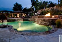 Custom Pools / Pools and outdoor environments created by Water Visuals.