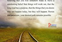 Positive Outlook / by Deb Padgett