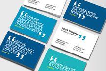 Business card / je les collectionnent.