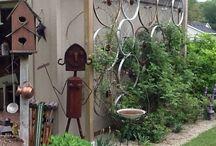 Treliça de jardim