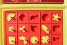 Vintage Games / Vintage games from days past.  Board games to dice and card games.  Vintage party games!  #miltonbradley #parkerbrothers #mattel #boardgames #monopoly