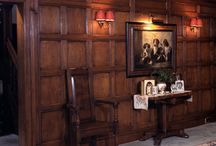 Panelled living Room
