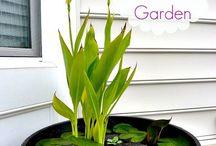 Garden pot ponds