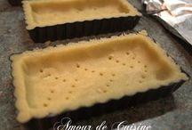 Pâtes à tartes