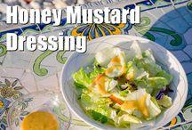 Paleo dressing and salads