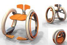 sedia elettrica pieghevole