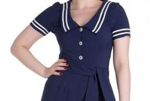 Vintage Sailor Looks! / Sailor ahoy! The most awesome sailor inspired looks!