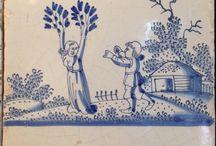 Tegels gemaakt in Harlingen / Tiles made in Harlingen / Harlinger tegels
