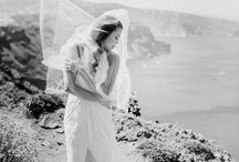 Post Wedding Shoots in Santorini