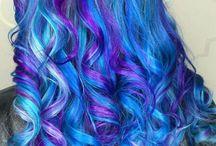 Colourful Hair Styles