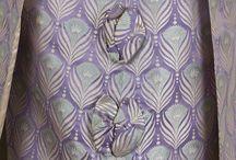 Fabrics / Vintage Victorian fabrics.