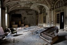 Abandoned places / Abandoned and haunted places.
