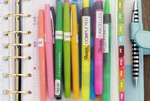 Organization / Ideas, planners, gadgets to organize