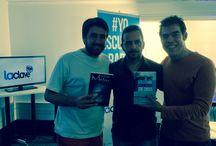 Entrevista programa Álvaro Escobar y Francisco Eguiluz / Imágenes de la entrevista en radio La Clave el 27 de marzo de 2015 sobre mis libros de Pancho Mentiras