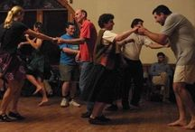 Contra Dance / Contra dance is a very popular form of dancing.  Easy to learn, and fun!